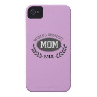 La plus grande maman des mondes coques iPhone 4 Case-Mate