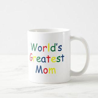 La plus grande maman des mondes mug blanc