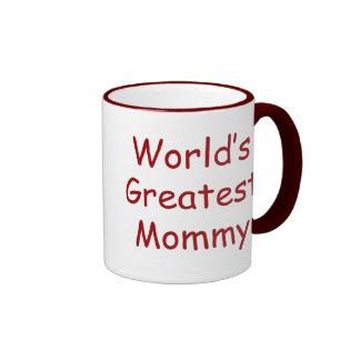 La plus grande maman des mondes mug ringer