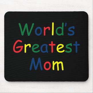 La plus grande maman des mondes tapis de souris