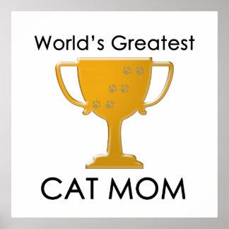 La plus grande maman du chat du monde