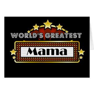 La plus grande maman du monde cartes