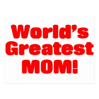 La plus grande maman du monde cartes postales