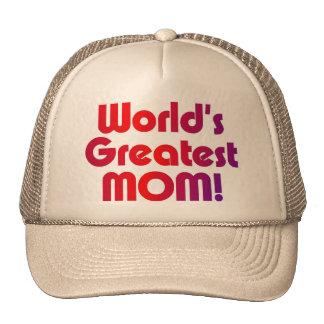 La plus grande maman du monde casquettes