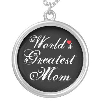 La plus grande maman du monde collier