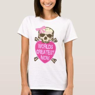 La plus grande maman du monde gothique t-shirt