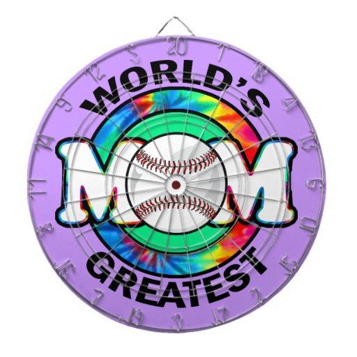 La plus grande maman du monde ; Le base-ball Jeux De Fléchettes