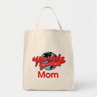 La plus grande maman du monde sac fourre-tout