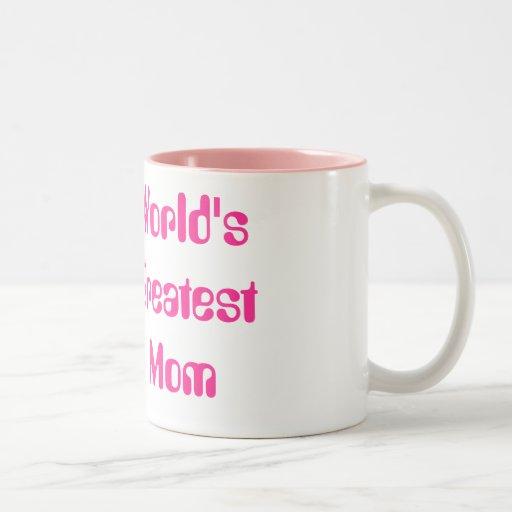 La plus grande maman du monde mugs à café