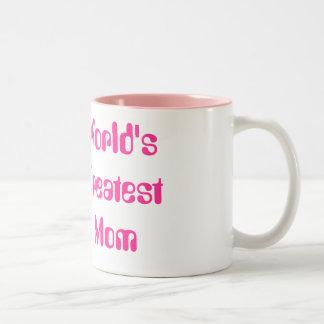 La plus grande maman du monde tasse 2 couleurs