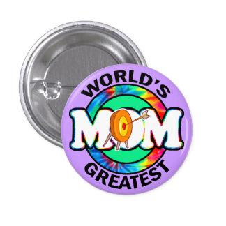 La plus grande maman du monde ; Tir à l'arc Badges