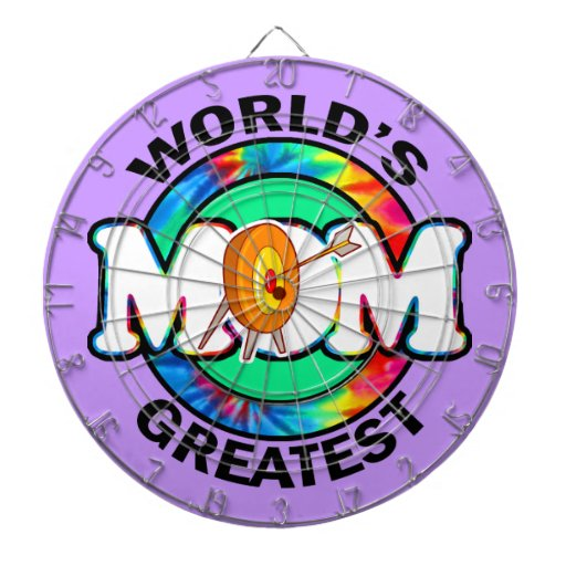 La plus grande maman du monde ; Tir à l'arc Jeu De Fléchettes