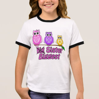 La plus grande soeur t-shirt ras-de-cou