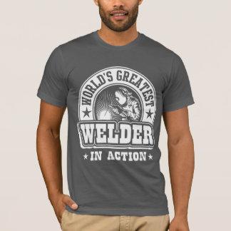La plus grande soudeuse du monde dans l'action t-shirt