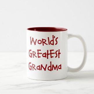 La plus grande tasse de la grand-maman du monde