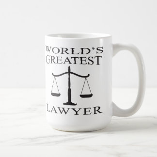 La plus grande tasse de l'avocat du monde