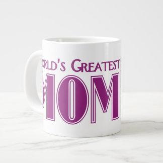 La plus grande tasse de photo de maman des mondes mug extra large