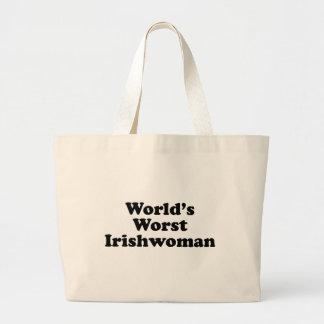 La plus mauvaise Irlandaise du monde Grand Tote Bag