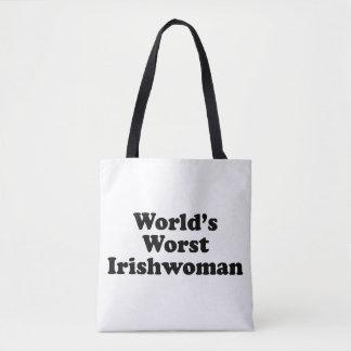 La plus mauvaise Irlandaise du monde Tote Bag