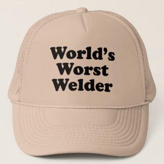 La plus mauvaise soudeuse du monde casquette