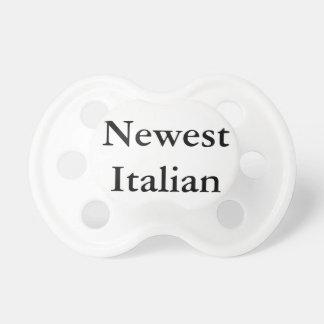 """La """"plus nouvelle"""" tétine italienne"""