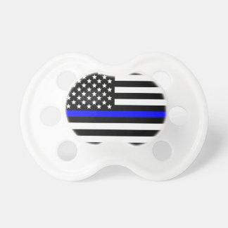 La police amincit l'appui de Blue Line Tétine Pour Bébé