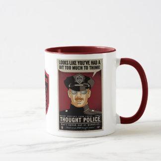 La police de pensée attaque mugs