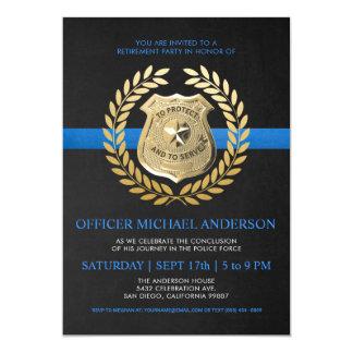 La police des invitations | de retraite de police
