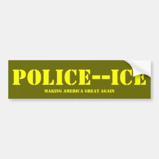 LA POLICE GLACE AUTOCOLLANT POUR VOITURE