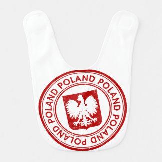 La Pologne Bavoirs De Bébé