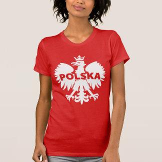 La Pologne Polska Eagle rouge et blanc T-shirt