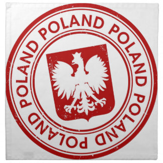 La Pologne Serviette