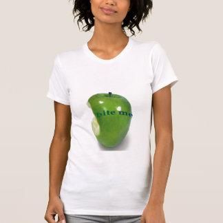 la pomme, me mordent T-shirt