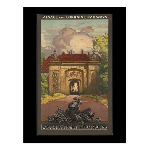 La Porte De France un Phalsbourg Cartes Postales