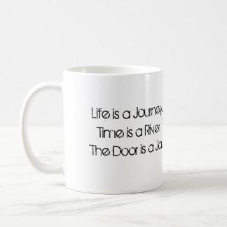 La porte est un pot mug