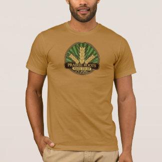 La prairie enracine le T-shirt de logo de centre