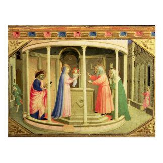 La présentation dans le temple carte postale