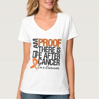 La preuve de leucémie là est la vie après Cancer T-shirt