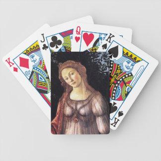La Primavera en détail par Sandro Botticelli Jeu De Poker