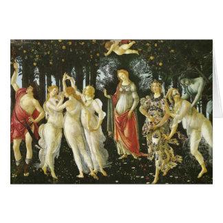 La Primavera par Sandro Botticelli Cartes