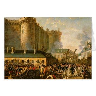 La prise de la bastille, le 14 juillet 1789 cartes