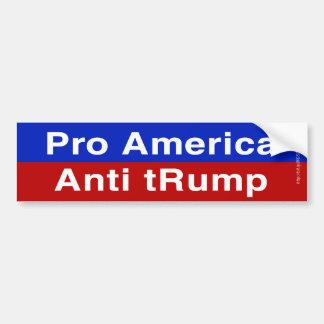 La pro Amérique, anti atout Autocollant De Voiture