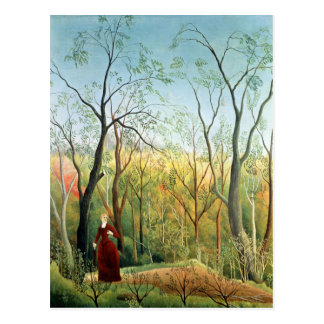 La promenade dans la forêt, 1886-90 cartes postales