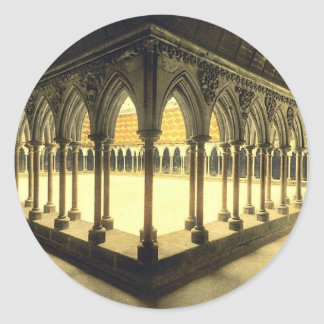 La promenade des moines, St Michel, cru de Mont de Autocollants