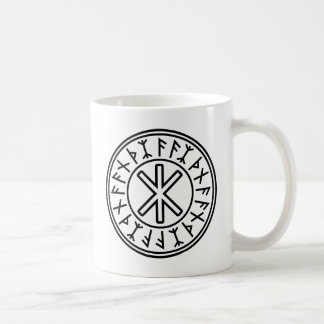 La protection No.2 (noir) d'Odin Mug