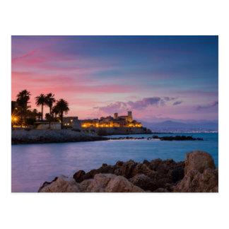 La Provence - château de carte postale d'Antibes