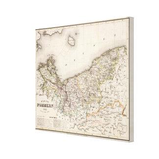 La Prusse, Allemagne, Pologne 2 Toiles
