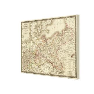 La Prusse, Allemagne, Pologne Toiles