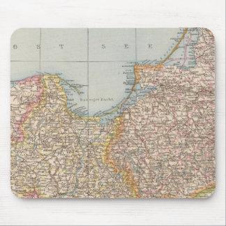 La Prusse d'Ost u Westpreussen, d'est et occidenta Tapis De Souris