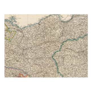 La Prusse et la Pologne Carte Postale